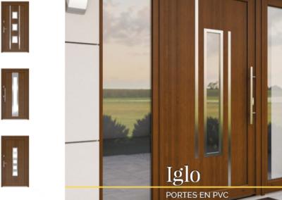 Porte Iglo 5 et Iglo Energy