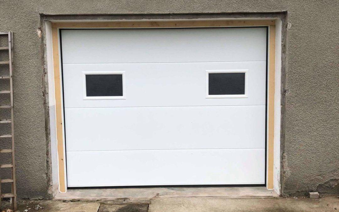 porte de garage motorisée à Schirmeck